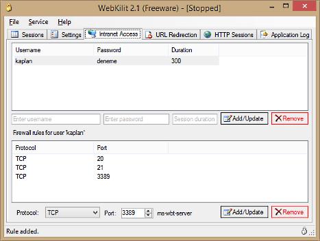 Click to view WebKilit screenshots